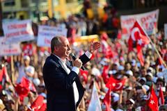 AYDIN MITINGI (FOTO 1/4) (Kişisel Photoblog) Tags: ziyakoseogluphotographerphotojournalistpoliticportrait siyaset sol sosyal sosyaldemokrasi chp cumhuriyet cumhurbaskani adayi ince muharrem aydin miting politika turkey turkiye tbmm engin altay ankara