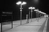 Berlin S-Bahnhof Lichterfelde Ost 14.4.2018 (rieblinga) Tags: berlin sbahnhof db fernverkehr regionalbahn lichterfelde ost 1442018 test kodak tmax 3200 rodinal 150 analog sw revue sc3 50mm