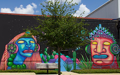 Street Mural (Ellsasha) Tags: mural murals streetart artists painting creativity mexican influence