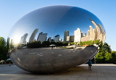 The Bean (*Aqualung) Tags: chicago thebean cloudgate bean olympus12100 olympus 12100 em1
