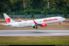 [SIN.2015] #Malindo.Air #OD #Boeing #B739 #9M-LNH #awp (CHR / AeroWorldpictures Team) Tags: malindo air malaysia boeing 7379gp er msn 38732 4484 eng 2x cfmi cfm567b26e reg 9mlnh 24may2013 first flight built site renton krnt delivered malindoair od mxd config cabin c12y168 b737 737 b739 b737900 wl winglets plane aircrafts airplane singapore changi airport sin wsss asian airlines nikon d300s raw nikkor 70300vr lightroom aeroworldpictures awp chr 2015