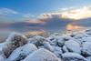 Soft ice (keysersoeze) Tags: holland tokinarmc17mmf35 netherlands winter markermeer sunset water adaptedlens nederland manualfocus lake ice sonya7 snow