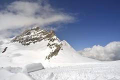 The Skies (St./L) Tags: nikon nature wide highmountain jungfrau switzerland blue sky white snow cloud relax meditation top wild imaginative creative