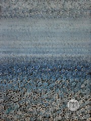 Out of the Mystic (original painting) (CrowRising) Tags: ocean sea poppies horizon blue indigo intothemystic vanmorrison flowers whitepoppies dream dreamlike dreamy mysticism spirituality metaphysics unity oneness mystery solluckman onebrushtechnique ink inkonpaper paintingwithink paintingonpaper penandink watercolor batik indiaink bookcoverart waitingroomart officeart homedecor interiordesign modern contemporary decorative nature solitude universe bold original vast mysterious souls