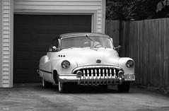 time machine... (Stu Bo) Tags: certifiedcarcrazy coolcar classiccar canonwarrior dreamcar vintageautomobile beautiful blackandwhite bw bnw retro sbimageworks shadows intheneighborhood idreamofcarsmotorsandhorsepower buickeight