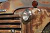 Rusty Truck # 2 (Gary L. Quay) Tags: rusty truck dufur oregon chevy chevrolet antique vintage headlight chrome nikon d300 garyquay gary quay