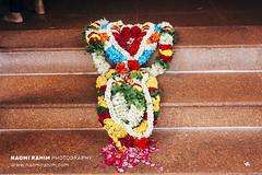 Sri Veeramakaliamman Temple - Singapore (Naomi Rahim (thanks for 3.9 million visits)) Tags: littleindia singapore 2017 travel travelphotography nikon nikond7200 asia streetphotography wanderlust temple sriveeramakaliammantemple offerings flowers lei hindu