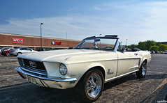 1968 Ford Mustang (Chad Horwedel) Tags: 1968fordmustang fordmustang ford mustang classic car convertible braconis naperville illinois