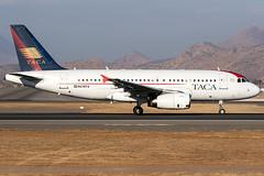 N478TA / Avianca Central America / Airbus A319-132 (Charles Cunliffe) Tags: canon7dmkii aviation comodoroarturomerinobenítezinternationalairport scel scl aviancacentralamerica tacainternationalairlines tai ta airbusa319 n478ta