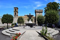 Vitorchiano - Italy (Biagio ( Ricordi )) Tags: vitorchiano viterbo borgo medievale paesaggio architettura castello italy nuvole borghi fiori flower lazio