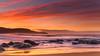 Rocky Dawn Seascape (Merrillie) Tags: daybreak sunrise seashore cloudy australia waves nsw centralcoast clouds sea newsouthwales rocks earlymorning morning water landscape ocean nature sky waterscape coastal seascape outdoors killcarebeach dawn coast killcare seaside