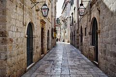 Streets of Dubrovnik (Jocelyn777) Tags: streets cobblestones stones stonehouses historictowns dubrovnik croatia balkans travel
