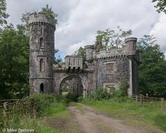 The gates (Mike Brebner) Tags: scotland scottish castle estate perthshire highlands old historic gatehouse gates farm overgrown