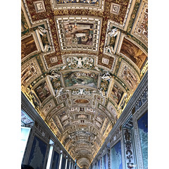 Vatikanische Museen (horstmall) Tags: art kunst arte vatikan vatican vaticano gallery galerie architektur architecture museum musee museo rom roma rome italien italy italia barock baroque barocco papst papa pope pape horstmall gold blau blue bleu azzurro