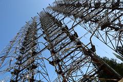 Russian Duga Early Warning Missile Radar, Chernobyl (Saleha Ullah) Tags: warningsystem russian soviet military radar missile duga woodpecker chernobyl ukraine nuclear disaster ghost town abandoned pripyat