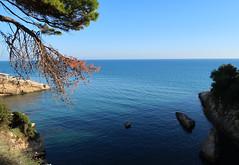 Montenegro - Adriatic (Bogdan J.S.) Tags: europa europe montenegro czarnogóra ulcinj adriatyk adriatic morze sea woda water seascape niebo sky horyzont horizon skyline skały rocks krajobraz landscape natura nature przyroda bałkany balkans seaside wybrzeże