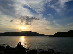 Golden Evening (MelindaChan ^..^) Tags: wanshan island china golden evening sunset dusk weather reflection sky fine chanmelmel mel melinda melindachan 萬山群島 萬山島 zhuhai