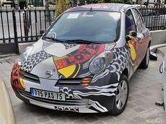 2003 Nissan Micra Yves Saint Laurent (pontfire) Tags: 2003 nissan micra yves saintlaurent