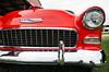 Super clean '55 poster (GmanViz) Tags: gmanviz color car automobile vehicle detail headlight grille chrome badge nikon d7000 bumper 1955 chevrolet belair 2door poster sedan