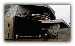 Philharmonie de Paris N°1 (Jean-Louis DUMAS) Tags: windows fenêtre bw building noir blanc black art architecture architecte artist artistic artiste artistique architect abstract abstrait