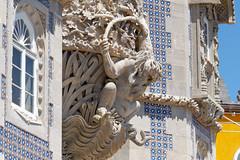Neptune...Palais de la Pena palace..Sintra ..Portugal (geolis06) Tags: geolis06 europe europa portugal sintra palaisdepena château castle unesco site patrimoinemondial unescoworldheritage unescosite olympus olympuspenf neptune