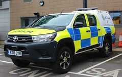 PX18 OYM (Ben - NorthEast Photographer) Tags: cumbria constabulary police toyota hilux response vehicle irv incident 999 4x4 winter snow terrain emergency offroad grille lights 2018 new px18 oym px18oym