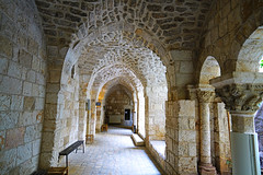 Ancient gallery, Jerusalem Old City, Israel (Andrey Sulitskiy) Tags: jerusalem israel