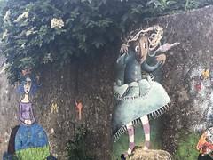 Las Meninas en el País de las Maravillas - turismo industrial en Ferrol (Turiskopio) Tags: meninas ferrol galicia turismo industrial streetart arte