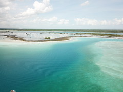 Bacalar Chetumal (israelrv2000) Tags: mexico maya chetumal laguna turqueza dji drone paraiso neverstopexploring chilangos avion naturaleza