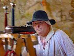 The Red Wyverns at Skipton Castle (grab a shot) Tags: canoneos5dmarkiv canon eos 5d britain uk england northyorkshire skipton skiptoncastle 2018 heritage medieval castle 1460 henryvi lordjohnclifford redwyvernsociety historical reenactment warsoftheroses hundredyearswar fifteenthcentury livinghistory war man soldier military
