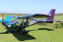 G-EOID_01 (GH@BHD) Tags: geoid aeroprakt a22 a22l foxbat aeroprakta22lfoxbat pophammicrolighttradefair2018 pophamairfield microlight popham aircraft aviation