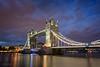 Towerbridge (pieter.struiksma) Tags: london towerbridge britain thames bridge water lights evening blue hour travel sky