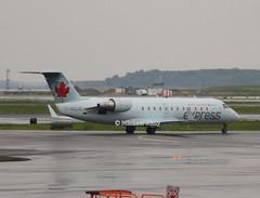 Air Canada Express                                        Bombardier CRJ200                                          C-GQJA (Flame1958) Tags: 0313 aircanada aircanadaexpress crj crj200 bombardiercrj200 bombardier regionaljet aircanadaregionaljet bos kbos 220518 0518 2018 bostonairport loganairport bostonloganairport cgqja