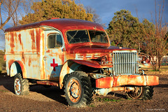 WWII Ambulance (dpsager) Tags: ambulance dpsagerphotography newmexico truthorconsequences veteransmemorialpark wwii