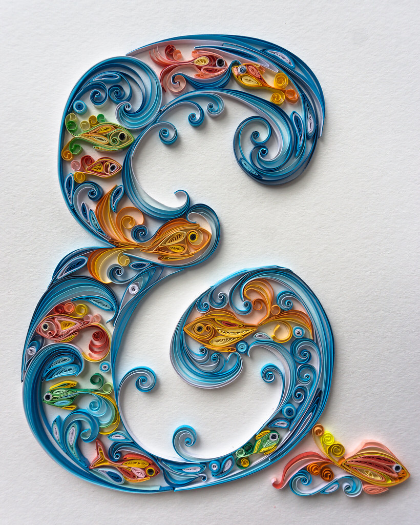 The worlds best photos of quilling flickr hive mind letter e quilling tanya kogan tags letter e quilling art craft altavistaventures Choice Image