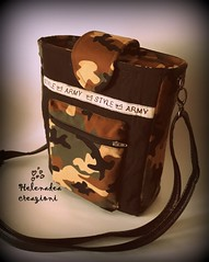 Cross bag (Helenadea) Tags: crossbag borsa tracolla militare camouflage cucito sewing sport