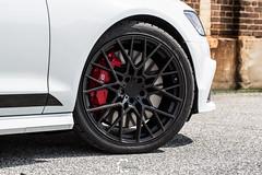 Audi S6 on TSW Sebring wheels - 4 (tswalloywheels1) Tags: white audi c7 a6 s6 tsw sebring mesh matte black aftermarket alloy alloys wheel wheels rim rims