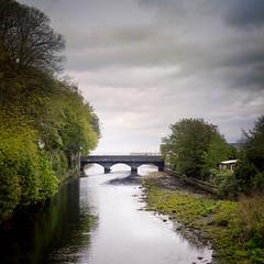 The Bridge at Glenarm, Co. Antrim. (fudgefishmono) Tags: glenarm mf gf670 bridge portra400 120 portra fujifilm northernireland coantrim