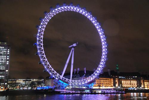 Око Лондона вночі InterNetri United Kingdom 0436
