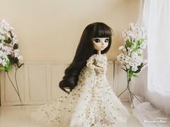 Wedding Dress (Mundo Ara) Tags: wedding dress midori pullip chloi doll groove brid bridal retrato