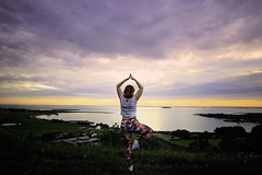 148/365: Namaste (Liv Annette) Tags: sun sunset namaste mindfullness view mountain randaberg norway norge europe scandinavia fresh landscape nature scenery scenic 365 365project me rogaland