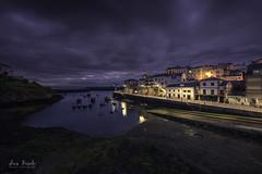 Tapia de Casariego (Luis R.C.) Tags: tapia marina puerto pueblos paisajes nocturnas nikon d610 asturias