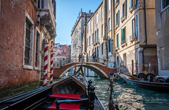 Canal cruise (filipmije) Tags: venice gondola boat canal