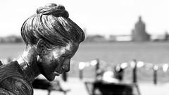 Emigrant Statue (Detail) (rodburkey) Tags: