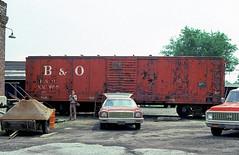 B&O XM3688 (Chuck Zeiler) Tags: bo xm3688 railroad boxcar box car riverdale train chuckzeiler chz