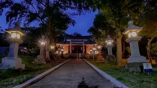 通霄神社夜景 Tongsiao Shrine night view