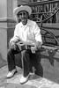Músico de son jarocho. (Marcos Núñez Núñez) Tags: músico musician son sombrero requinto streetphotography urban veracruz mexico jarocho bw blancoynegro blackandwhite portrait retrato streetportrait