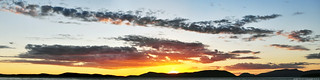 2018-05-31 Sunset Panorama (4120x1024)