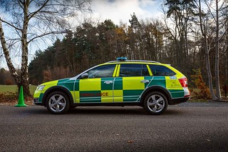 Skoda Scout Emergency Vehicle Ambulance  - Free Car Picture - Give Credit Via Link