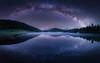 Spiegelung (louhma) Tags: reflection milkyway milchstrase deutschland d750 landscape landschaft nature outside outdoor long exposure longexposure lake geroldsee